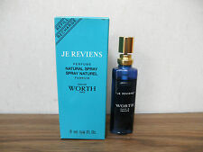 Je Reviens Worth Perfume Spray Parfum 0.25oz 8mL 1/4oz refill