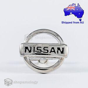 Silver Car Logo Novelty Cufflinks