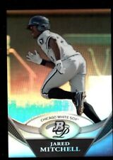 JARED MITCHELL WHITE SOX RC CHROME REFRACTOR 2011 BOWMAN PLATINUM PROSPECTS B