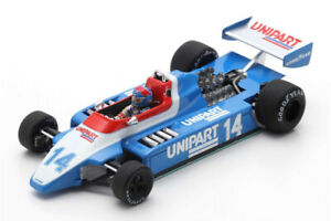Ensign MN180 Ford Jan Lammers British GP 1980 1:43 (Spark S5306)
