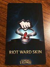 League of Legends lol Fist Bump Riot Ward Skin Code Any Server NA, EUW, etc