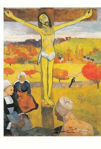 Postkarte: Paul Gauguin - Der gelbe Christus /1889