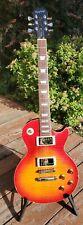 Epiphone Les Paul Standard Plus Top Guitar - Cherry Sunburst - Custom Flame MIK