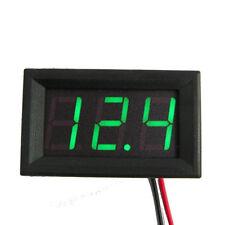 AU Green Mini Digital DC 4.7V-30V LED Voltmeter Voltage Volt Panel Meter Gauge