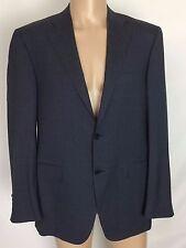 2017 NWD $1395 Canali 1934 Charcoal Gray Wool Blue Pinstripe Blazer 42R (Eu 54R)