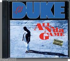 Lil Duke - All N'da Game - New 1994 Gangster Rap CD!