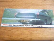 SUNBEAM RAPIER H120 CAR BROCHURE  jm