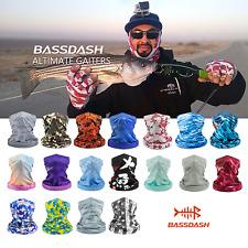 Bassdash Upf 50+ Uv Sun Protection Fishing scarf Face Mask Neck Gaiter Headwear