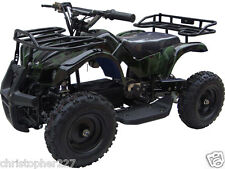 Outdoor Four Wheeler 24V Electric Battery Mini Quad ATV Kids Ride On Sonora Camo