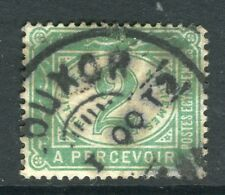 EGYPT; Early 1900s issue Postage due used 2m. value, Louxor POSTMARK