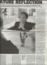 SIAN PHILLIPS interview  UK 2004 PETER O'TOOLE clipping ON MATURE REFLECTION