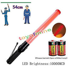 Traffic Safety Rescure Signal LED Road Control Warning Flashing Light Wand Baton