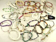 Assorted Beachy Surfer Style Anklets New Lot of 38 Below Wholesale