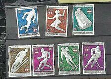 BURUNDI STAMPS  1976 WINTER  OLYMPICS   FULL-SET-USED- HINGED