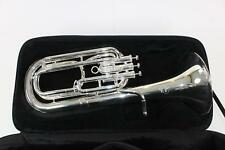 Besson Model 1057-2-0 Performance Bb Baritone Horn in SILVER DISPLAY MODEL Quinn