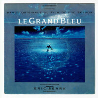 "LE GRAND BLEU Film Vinyl 45T 7"" Luc BESSON Eric SERRA MY LADY BLUE -VIRGIN 90443"