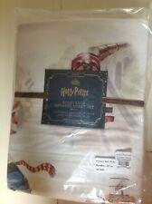 NWT Pottery Barn Kids HARRY POTTER  STORYBOOK   ORGANIC  Sheet set TWIN