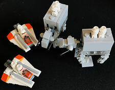 Lego Star Wars micro AT&Ts with speeders inc micro figures