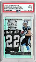 2017 Panini Prizm Rookie Introductions #10 Christian McCaffrey ROOKIE PSA Mint 9