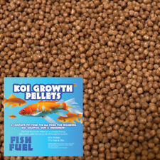 Fish Fuel Koi Growth Food 2kg - 3mm or 6mm - Floating - 42% Protein, Pond Pellet
