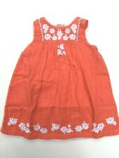 Embroidered Dress Ex Mini Boden Age 12-24 Months 2-4 Years