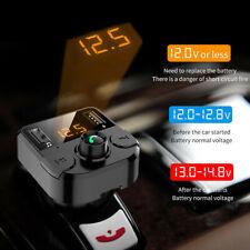 BT36B BT5.0 Car Kit MP3 Player FM Transmitter With USB Charger Handsfree