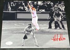 Matt Adams Autographed Signed 8x10 Photo Playoff HR Kershaw Cardinals JSA