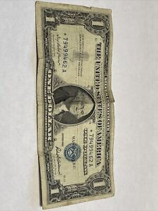 1957 $1.00 Star Note Silver Certificate