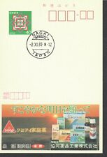 Japan ECHO ad card 11-2-87 Kyodo Co. advertising home remedies , pharmacy