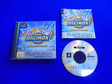 ps1 Digimon World PLAT Digi Monsters Rare Game Boxed COMPLETE PAL ps2 ps3