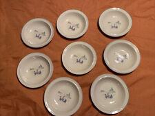 Sango Harmony (8) Soup / Cereal Bowls VTG - Stone Ware - 214541 Indonesia -Ducks