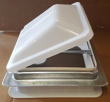 "RV - Ventline Complete Roof Vent, Includes Garnish, Screen, 14x14"" Cover, Crank"