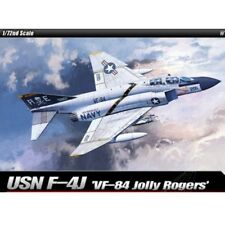 Academy Plastic Model Kit 1/72 USN F-4J VF-84 Jolly Rogers #12529 + Free Gifts
