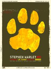 Stephen / Damian Marley Limited Edition Silkscreen Concert Poster Screen Print