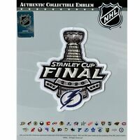 2020 Official NHL Stanley Cup Final Patch Tampa Bay Lightning