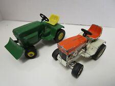 Vintage Ertl John Deere Lawn Tractors - Lot of 2 Different