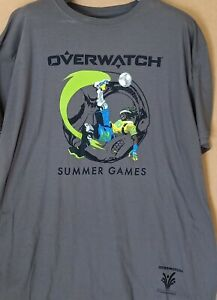 OVERWATCH SUMMER GAMES SKATE TEE NEW WITH TAGS XXL