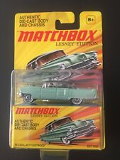 MATCHBOX LESNEY  AUTHENTIC DIE - CAST BODY AND CHASSIS 55 CADILLAC FLEETWOOD