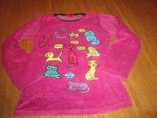 Haut de pyjama motif Chats,T10ans,marque Tissaia,en TBE