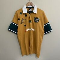 Australia Wallabies Canterbury 2004/2005 Rugby Jersey Shirt Mens XL