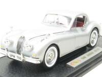 Signature Models Diecast 18120 1949 Jaguar XK 120 Silver 1 18 Scale Boxed