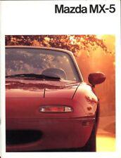Mazda MX-5 Mk 1 1990 Dutch market sales brochure