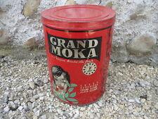 Ancienne grande boite en fer de café MOKA vintage déco bistrot cuisine