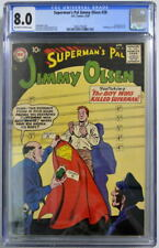 Superman's Pal JIMMY OLSEN 28 CGC 8.0 DC 1958 2nd Highest Graded Only 1 Higher