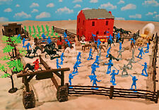 Zorro Playset - 54mm Plastic Toy Soldiers