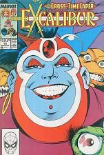 EXCALIBUR    # 15  - COMIC - 1989  -  9.2