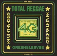 TOTAL REGGAE: GREENSLEEVES Total Reggae CD NEW 2017