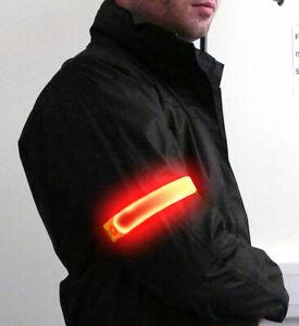 Portwest HV05 Illuminated Reflective Flashing Adjustable Elasticated Armband