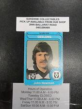 1980 SCANLENS CARD NO.164 JOHN NEWMAN GEELONG GOOD