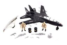 F-16 Fighter Jet Large Army Plane Bomber with Military Soldier Action Figure UK
